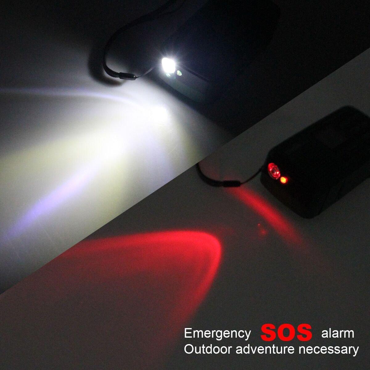 Kurbelradio mit Taschenlampe Notfallradio