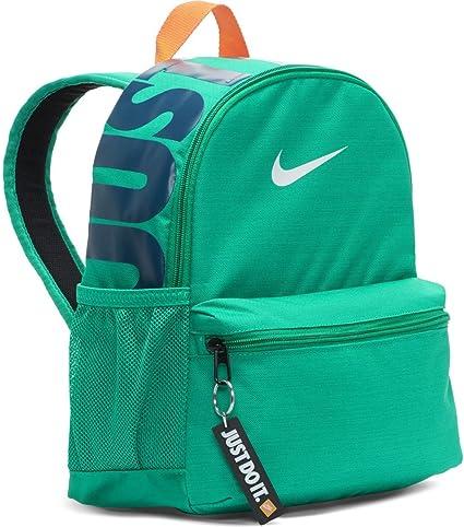 Verter Santuario Popa  Nike Brasilia Just Do It Mini Mochila para niños (talla única, verde  (BA5559-370)/blanco): Amazon.com.mx: Ropa, Zapatos y Accesorios