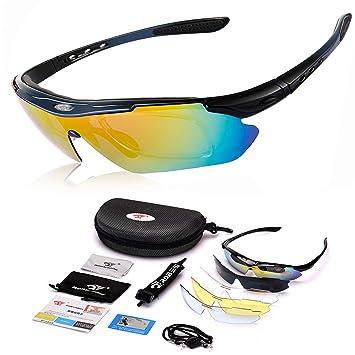 KSNOW SASA EU Gafas de Sol polarizadas: Gafas de Sol de Estilo Militar Glasear y Mejorar los Colores Gafas Deportivas