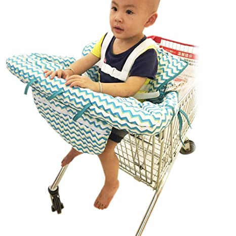 923ad9c92 Buy KAKIBLIN Summer 2-in-1 Infant Cotton Shopping Cart Cover and ...
