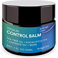 Anti-Itch Balm for Face and Body, Athletes Foot, Ringworm, Eczema, Dry Skin, Jock Itch, Nail Fungal Infections, Antibacterial Intense Moisture, Gentler and Safer by Evagloss