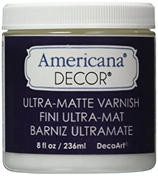 Deco Art Americana Decor Varnish 8 Oz Ultra Matte Amazoncouk