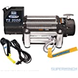 Superwinch 1595200 Tiger Shark 9.5, 12 VDC winch, 9,500 lb/4,309 kg capacity with roller fairlead