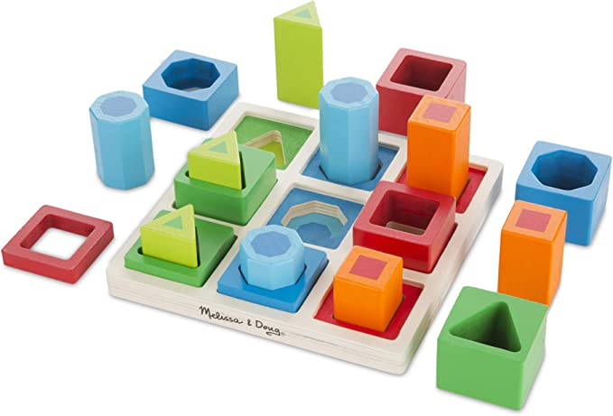 Melissa & Doug Shape Sequence Sorting Set