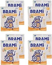 BRAMI Lupini Bean Snack, Garlic & Herb | Plant Protein, Vegan, Gluten-Free, Low Calorie, Zero Net Carb, Keto, Lightly Pickled, Mediterranean Legume | Pack of 8, 5.3 oz (150g)
