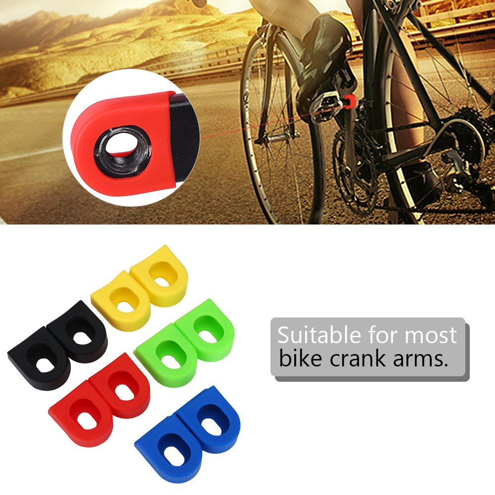 Crank Arm Protectors MTB Crankset Shell Case Crank Arms Boots for Bicycle Parts