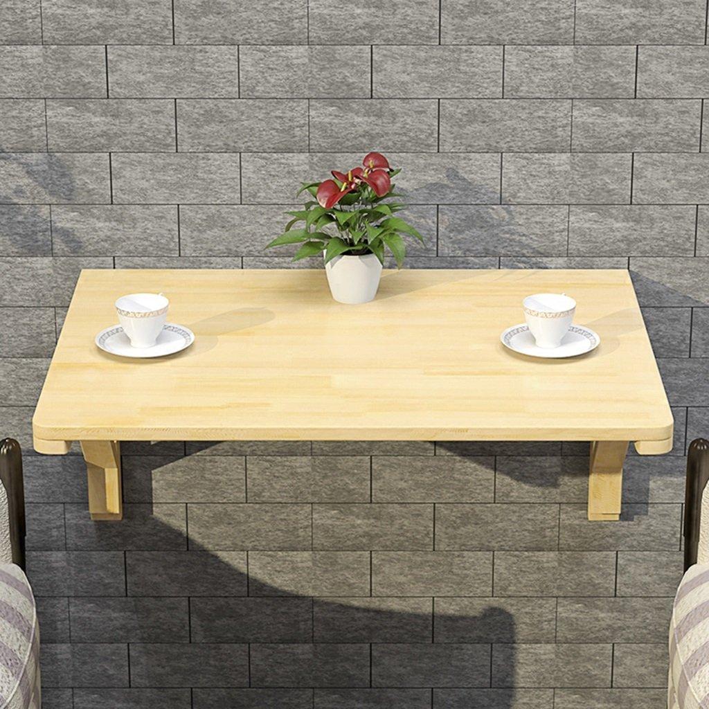 壁掛けテーブルコンピュータデスクソリッドウッド折りたたみダイニングテーブルラーニングテーブルサイズオプション ( サイズ さいず : 80*40cm ) B07B75WLKJ 80*40cm 80*40cm