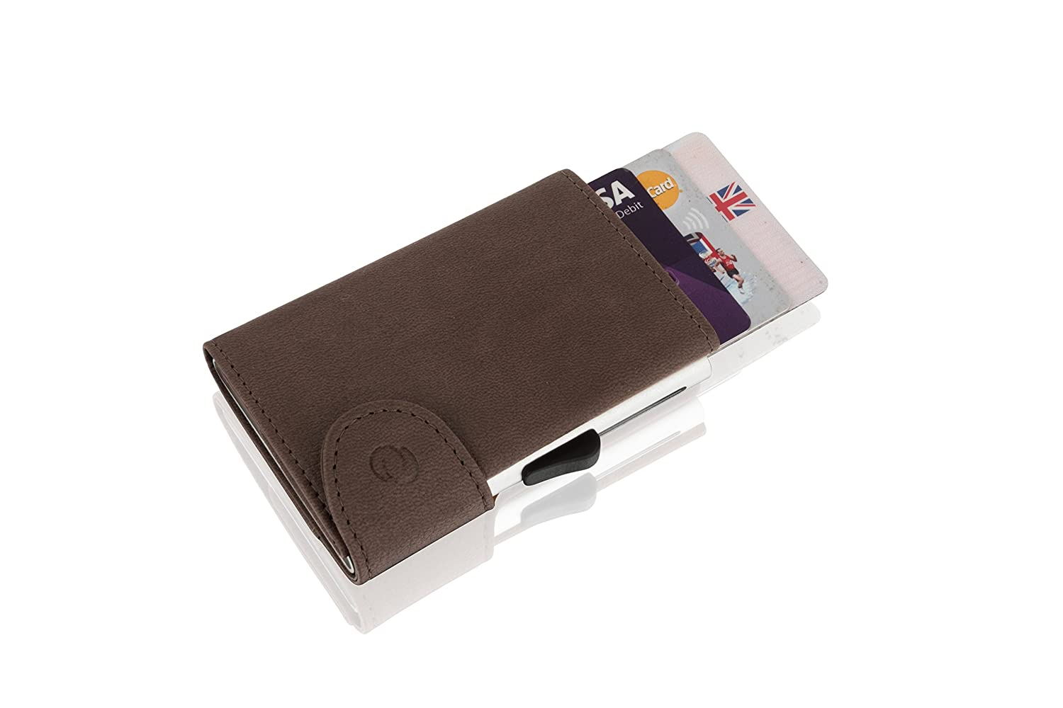 C-Secure Cardholder Wallet (Brown)