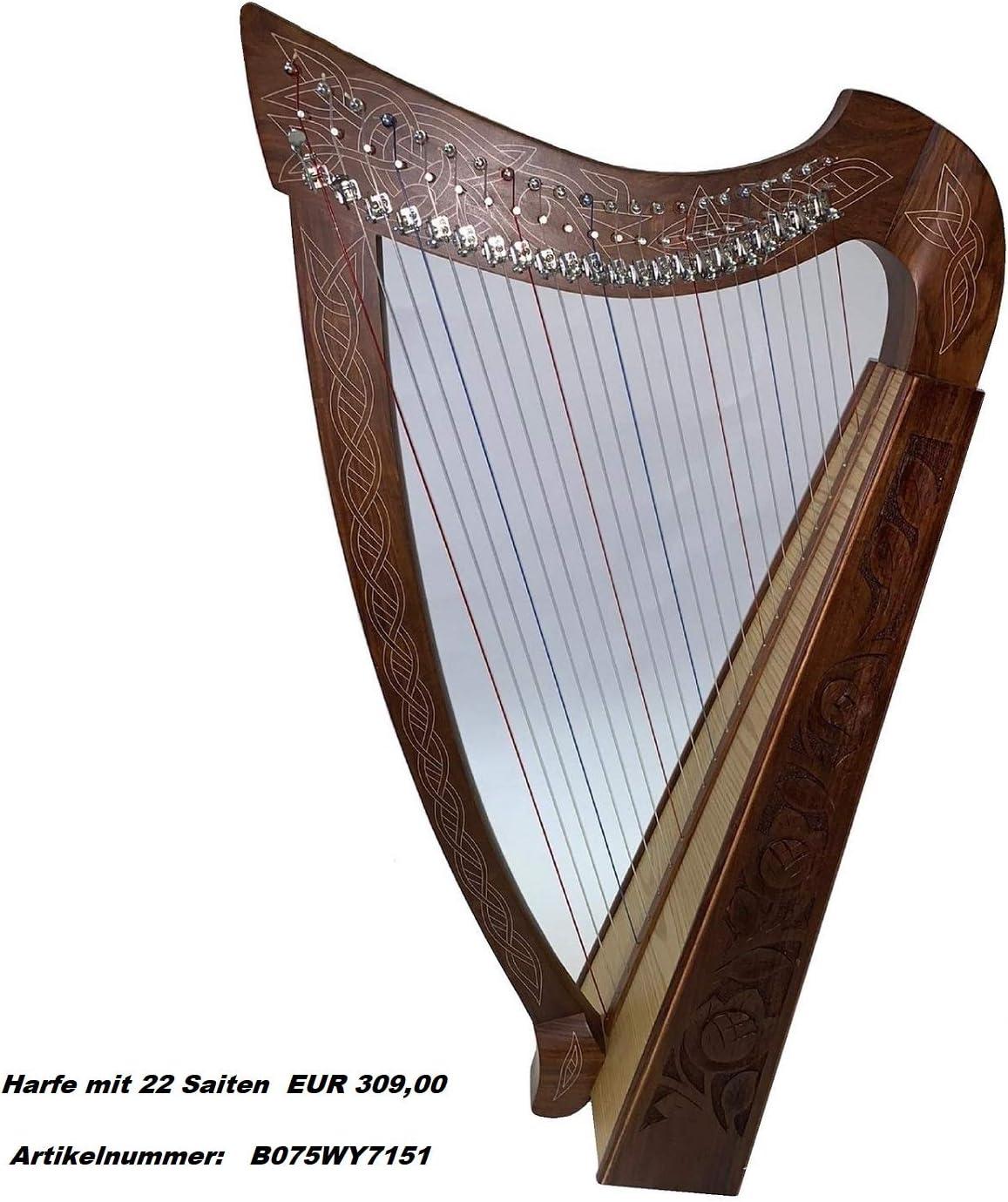 Tragetasche Carry Case für Harfe mit 8 Saiten