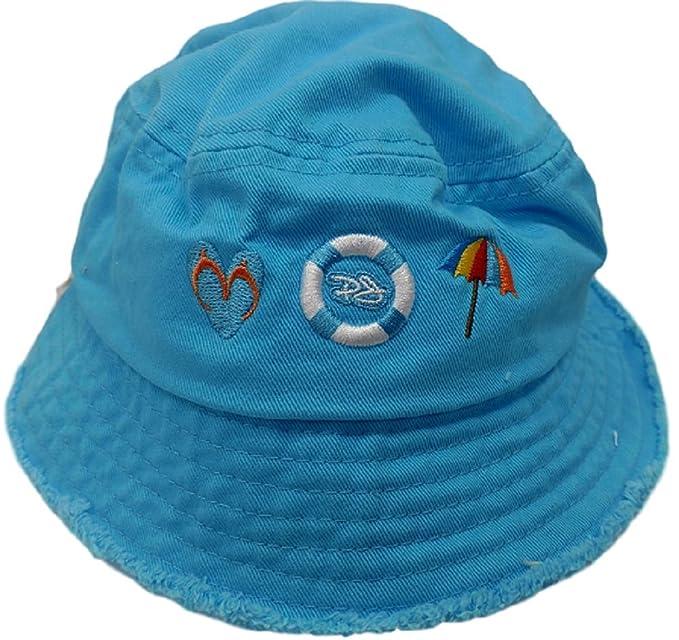 9bd3cdef8a2da Amazon.com  Panama Jack Fun in The Sun Bucket Hat (0-2