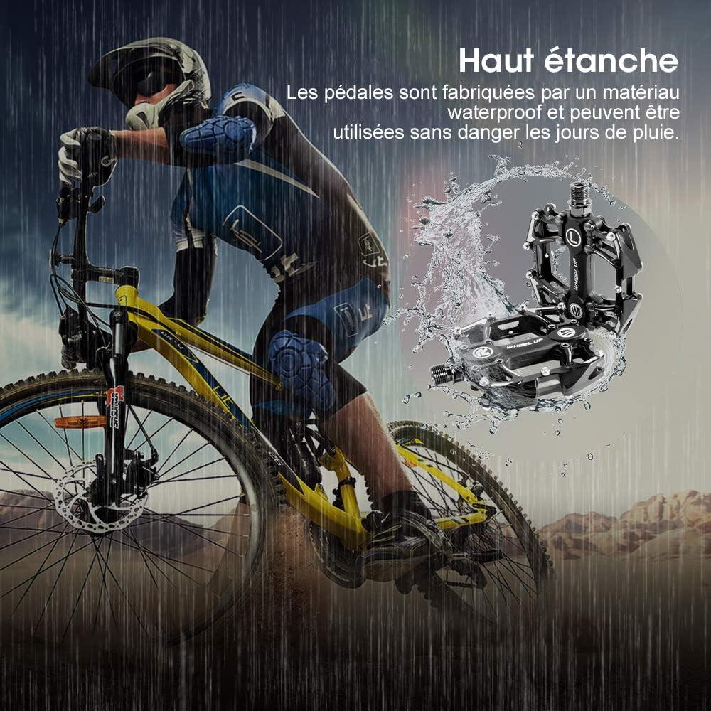 Hokyzam - Pedal de Bicicleta de montaña de aleación de Aluminio ...