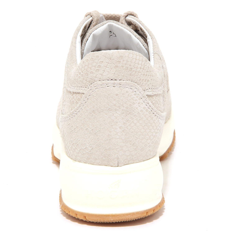 6582P sneaker bimba HOGAN JUNIOR INTERACTIVE ghiaccio shoe kid  34    Amazon.it  Scarpe e borse b4365a2343e