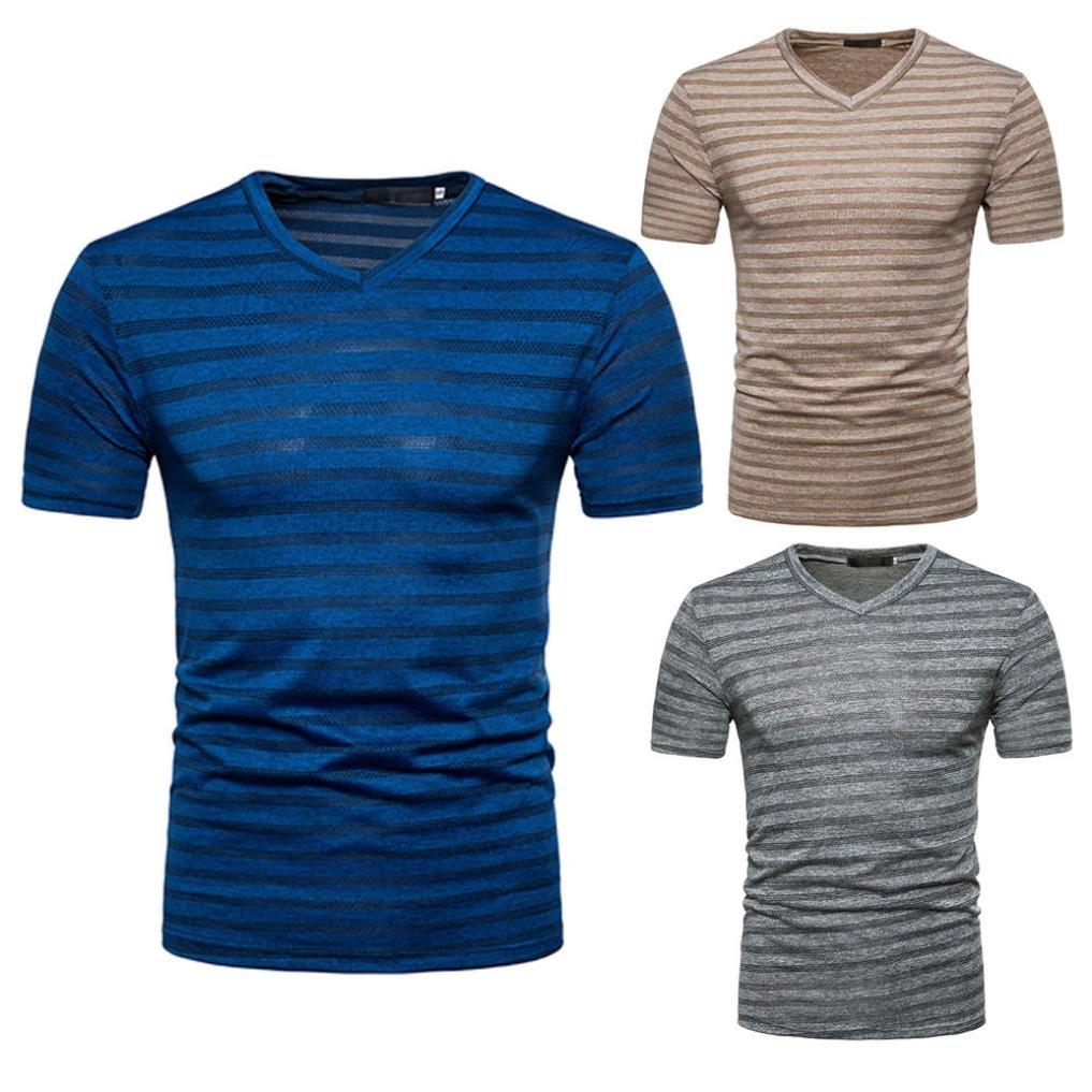 Herren T Shirt Kurzarm Shirt,Jaminy 2018 Männer Sommer
