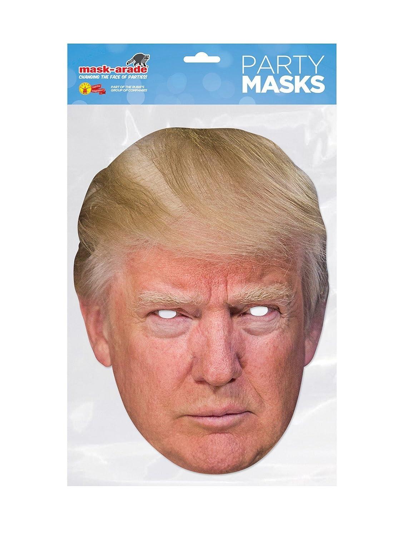Rubies Careta Donald Trump, Multicolor, Talla única (DTRUM02): Amazon.es: Juguetes y juegos