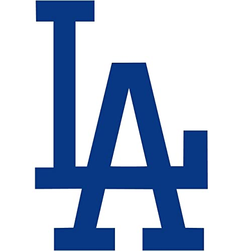 Amazon Set Of 2 La Dodgers Die Cut Vinyl Auto Decal Or