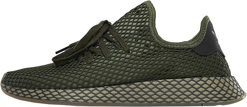 adidas Originals Homme Baskets Deerupt Runner,Vert,46 EU