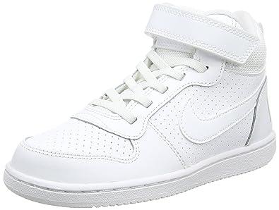 f452c5eebc5f0 Nike Court Borough Mid GS Nike Court Borough Mid GS Baskets Garçon ...