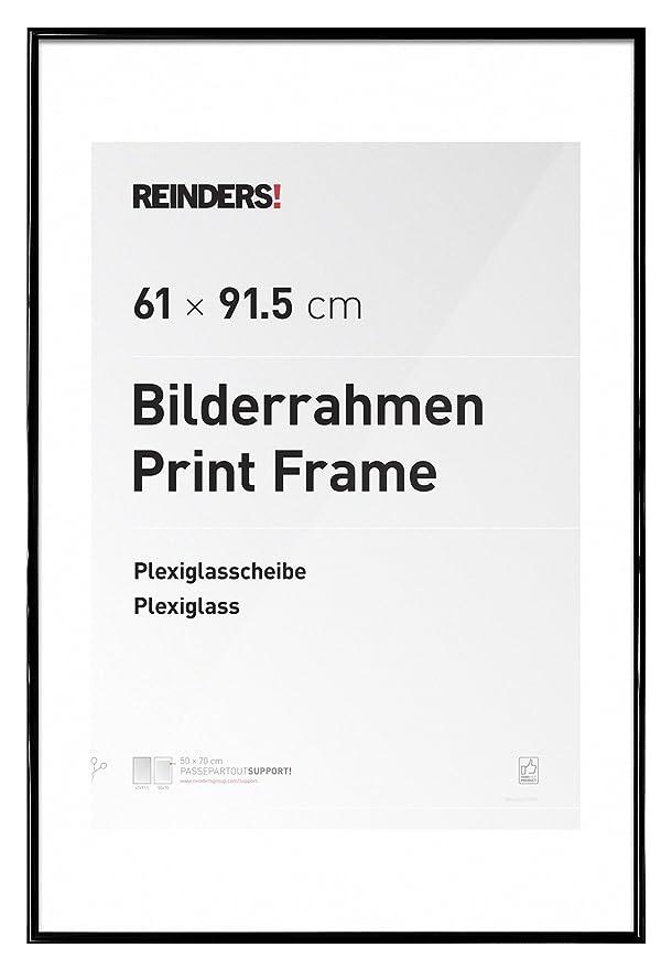 Amazon.de: REINDERS® Bilderrahmen für Maxi Poster 61 x 91, 5 cm ...