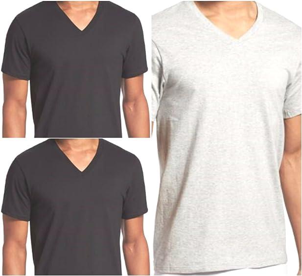 Calvin Klein 3 Pack V Neck T Shirts