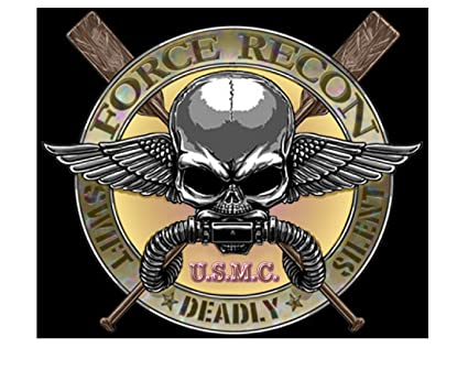 Amazon Usmc Force Recon Memorial American Military Car Window