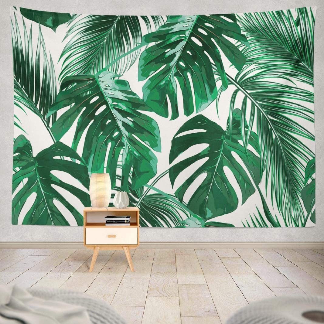 Amazon Com Asoco Leaf Tapestry Tapestry Wall Hanging Leaf Colorful Safari Tropical Palm Leaves Wall Tapestry For Bedroom Living Room Tablecloth Dorm 80wx60l Inches Home Kitchen Currently 50% off for a limited time! asoco leaf tapestry tapestry wall hanging leaf colorful safari tropical palm leaves wall tapestry for bedroom living room tablecloth dorm 80wx60l