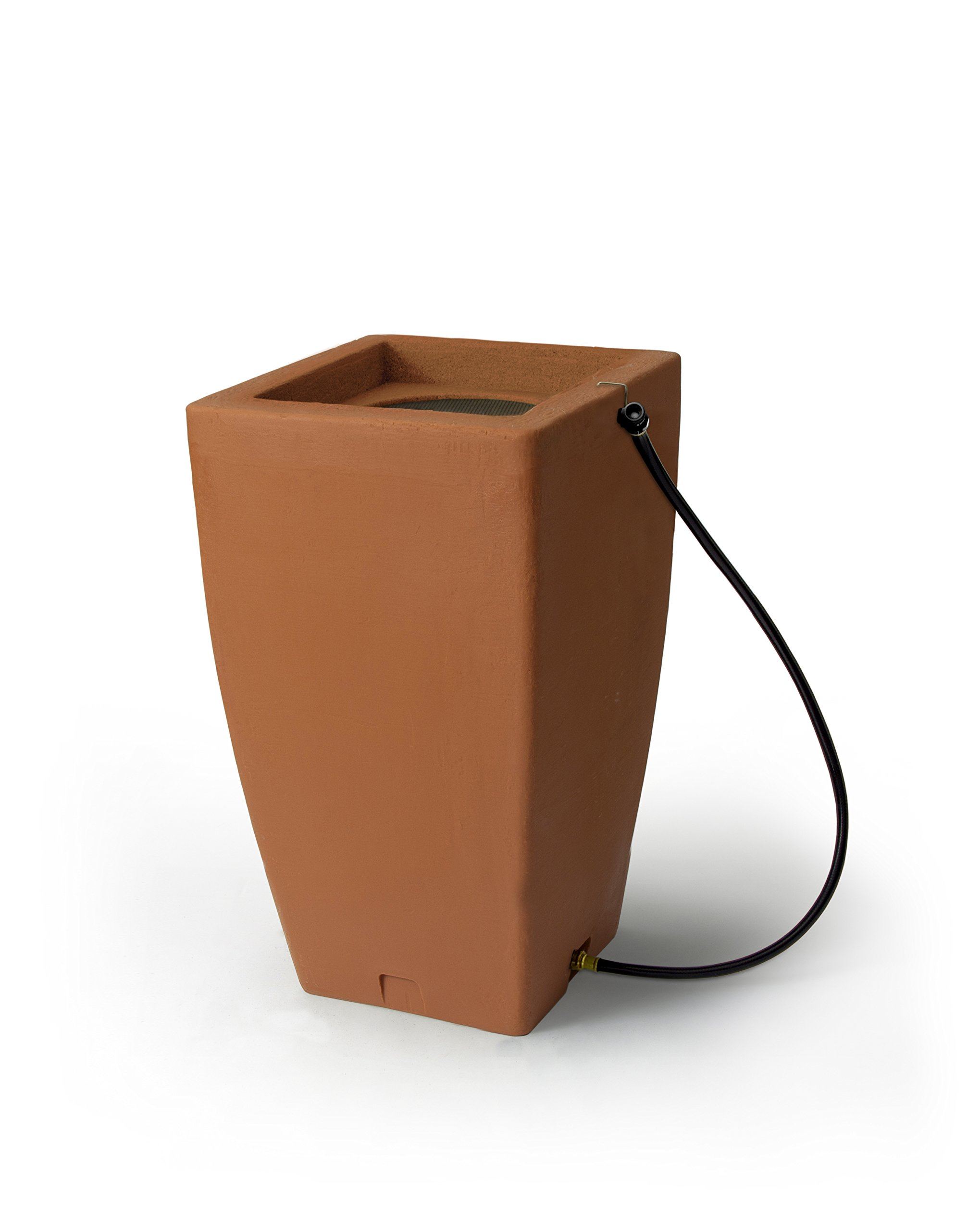 Algreen Products 84002 Madison Rain Barrel , Terra Cotta ,49-Gallon