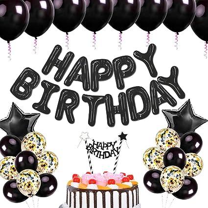 Amazon.com: Globos de cumpleaños para decoración de fiestas ...