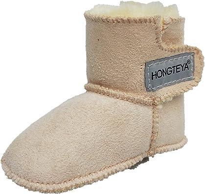 HONGTEYA Winter Baby Snow Boots