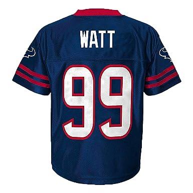 JJ Watt Houston Texans Navy Blue Toddler Player Home Jersey (Toddler 2T) a41c3a516
