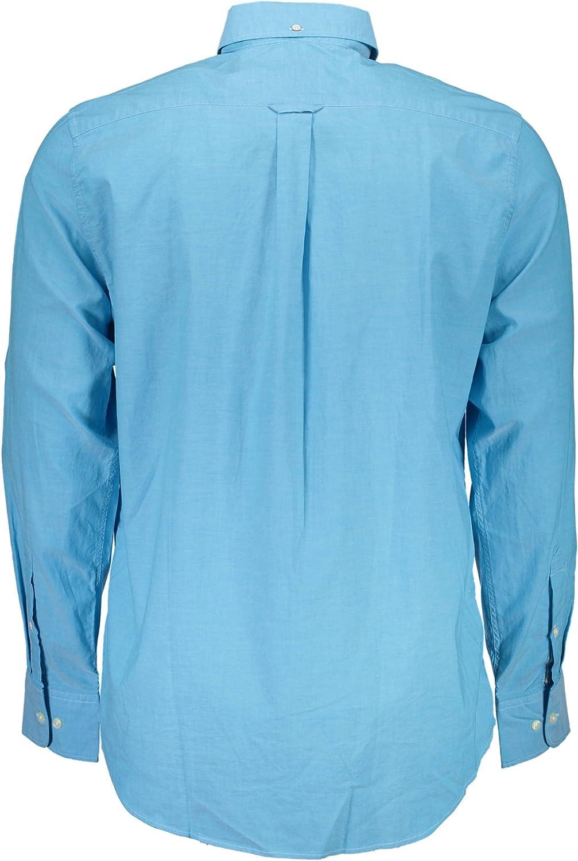 Camisa GANT lavada óptica blanco: Amazon.es: Ropa y accesorios
