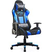 GTRACING Ergonomic Office Chair Racing Chair Backrest and Seat Height Adjustment Computer Chair with Pillows Recliner Swivel Rocker Tilt E-Sports Chair