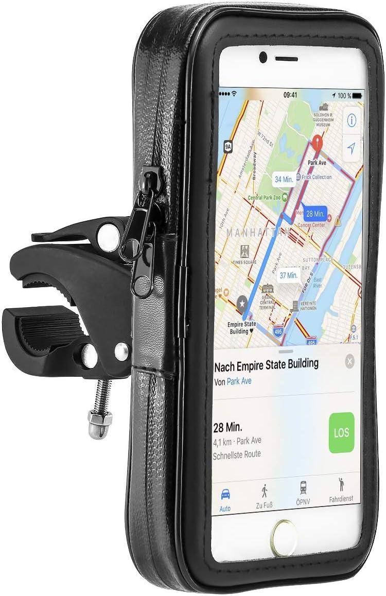 MidGard Impermeable bicicleta y motocicleta Mount Universal con bolsa impermeable para teléfono móvil Smartphone 5.5 pulgadas: Amazon.es: Electrónica