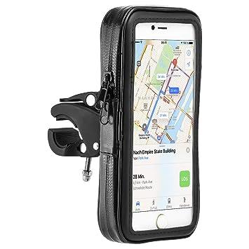 MidGard Impermeable bicicleta y motocicleta Mount Universal con bolsa impermeable para teléfono móvil Smartphone 5.5 pulgadas - 6.3 pulgadas en cuanto ...
