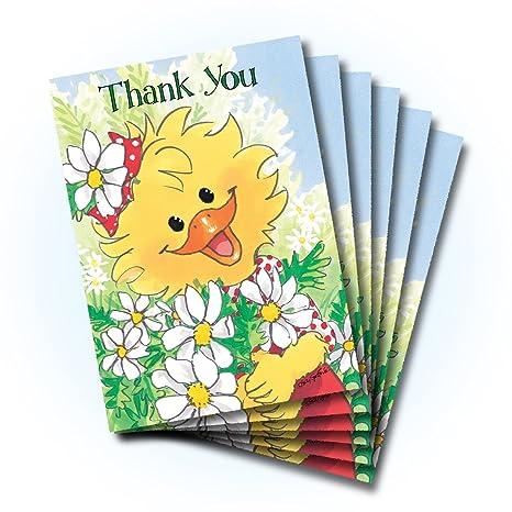 Amazon.com: Suzy Zoo Thank You tarjeta de felicitación de la ...