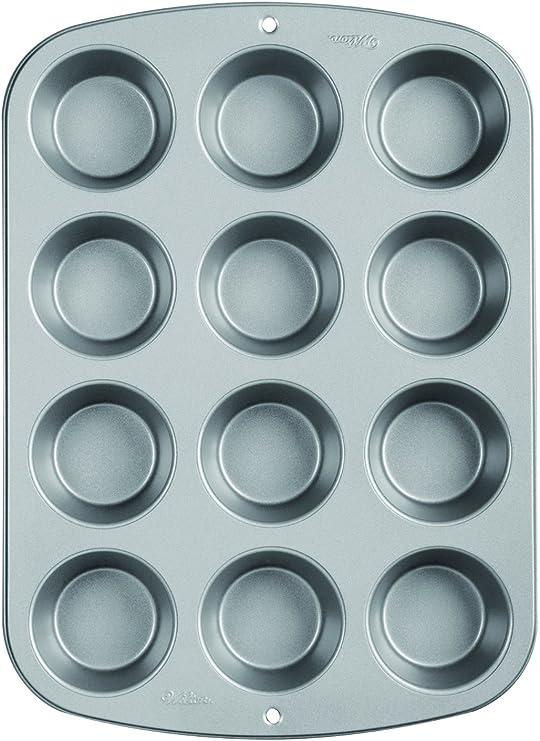 Wilton Recipe Right Non-Stick Mini-Muffin Pan 12-Cup 2-Pack