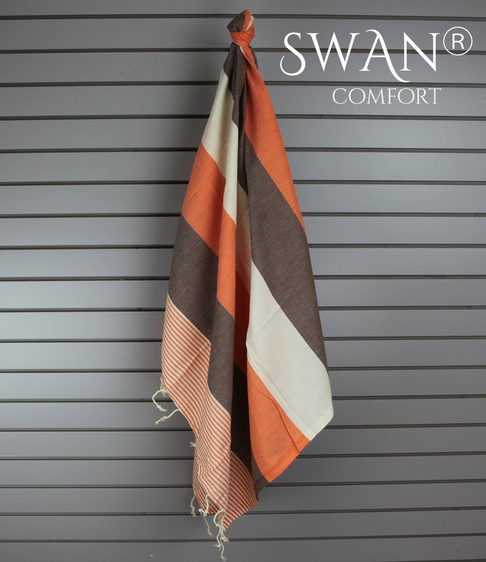 Galleon Swan Comfort Turkish Towel Peshtemal Bathrobe For Hamam