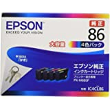 EPSON 純正インクカートリッジ IC4CL86 4色パック 大容量
