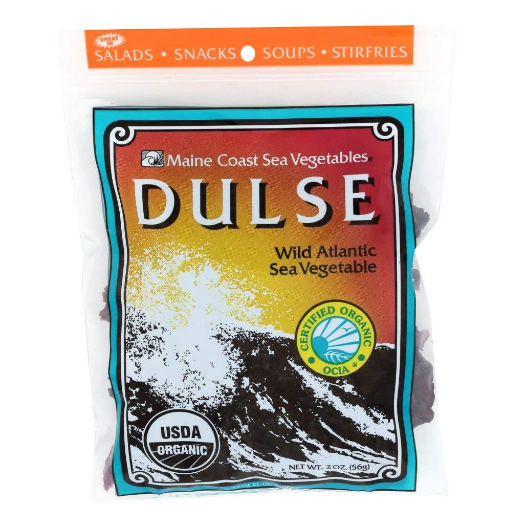 Maine Coast Sea Vegetables Dulse Bag Organic, 2 oz