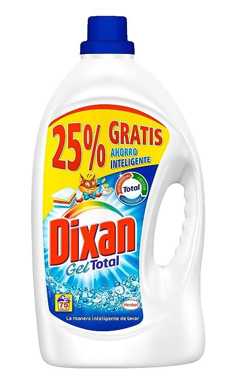 Dixan Detergente Líquido Total- 60 Lavados (3 L): Amazon.es: Amazon Pantry