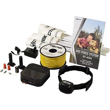 Amazon Com Dogtek Ef 4000 Electronic Dog Fence System
