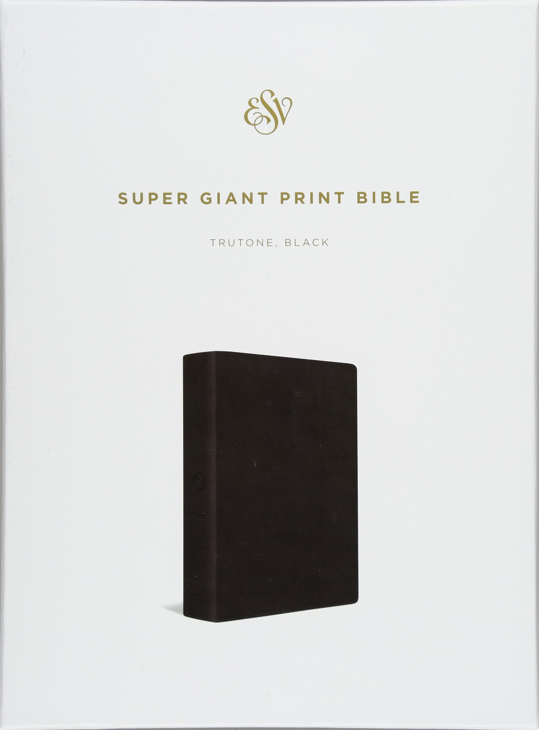Download ESV Super Giant Print Bible (TruTone, Black) ebook