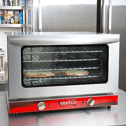 Exceptionnel Avantco CO 16 Half Size Countertop Convection Oven, 1.5 Cu. Ft.