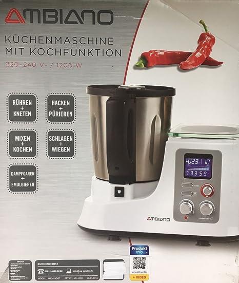 Aldi sud Robot da Cucina con funzione di cottura argento: Amazon.it ...