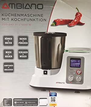 Amazon De Aldi Sud Kuchenmaschine Mit Kochfunktion Silber