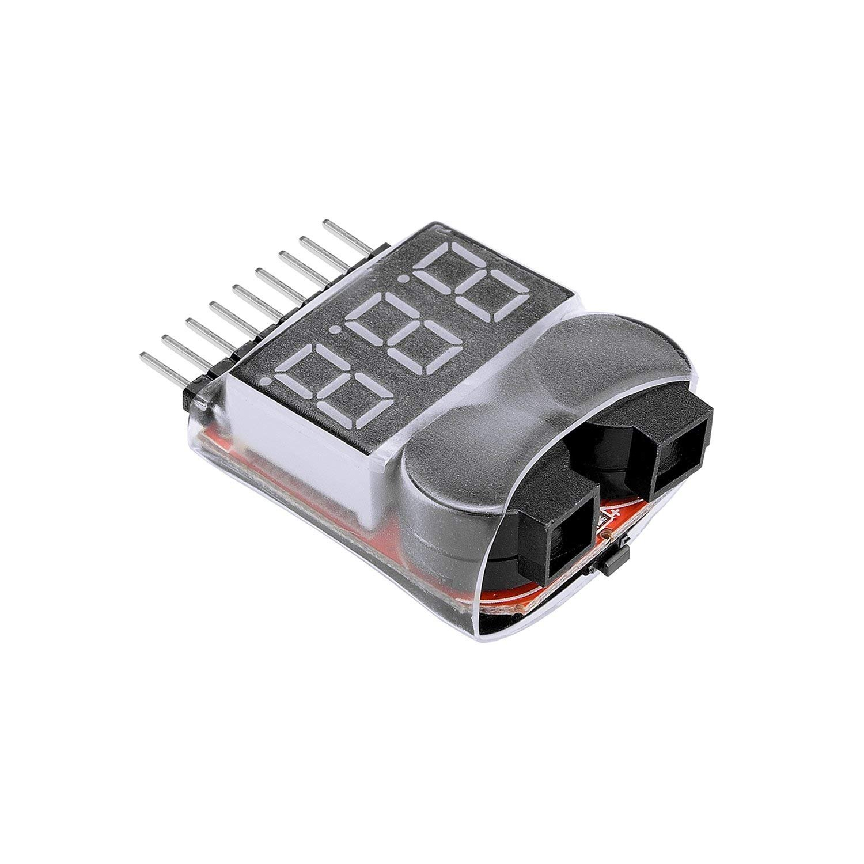 Tinxi Low Voltage Batterie LiPo Tester Warner Buzzer Batterie Tension Alarme