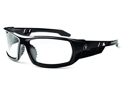 e320c61c1b0 Image Unavailable. Image not available for. Color  Ergodyne Skullerz Odin  Anti-Fog Safety Glasses - Black Frame