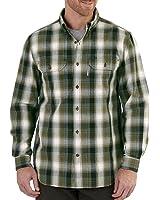 Carhartt Men's 102214 Fort Plaid Long Sleeve Shirt
