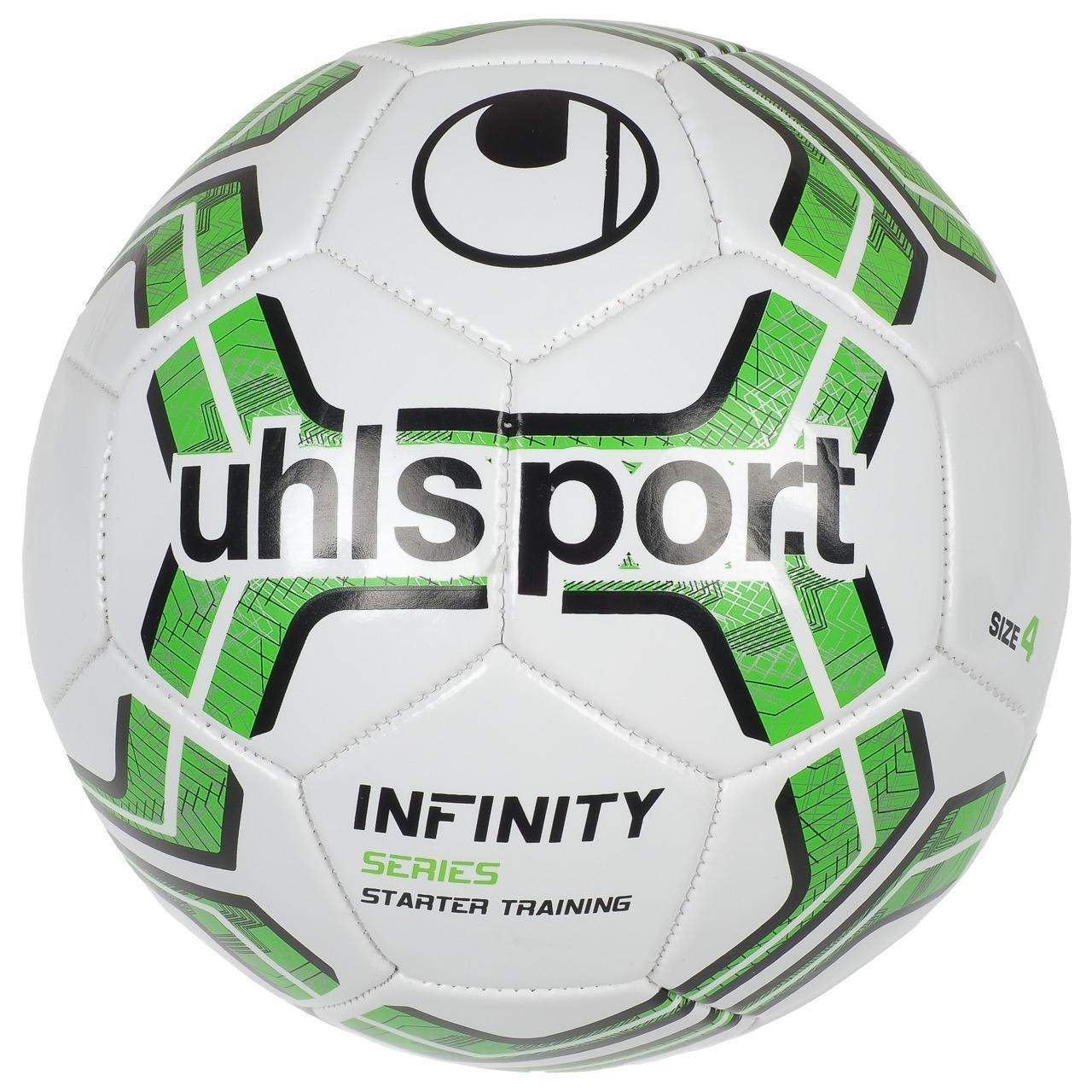 Uhlsport - infinity BLC balón T4 - Balón Fútbol Ocio, blanco ...