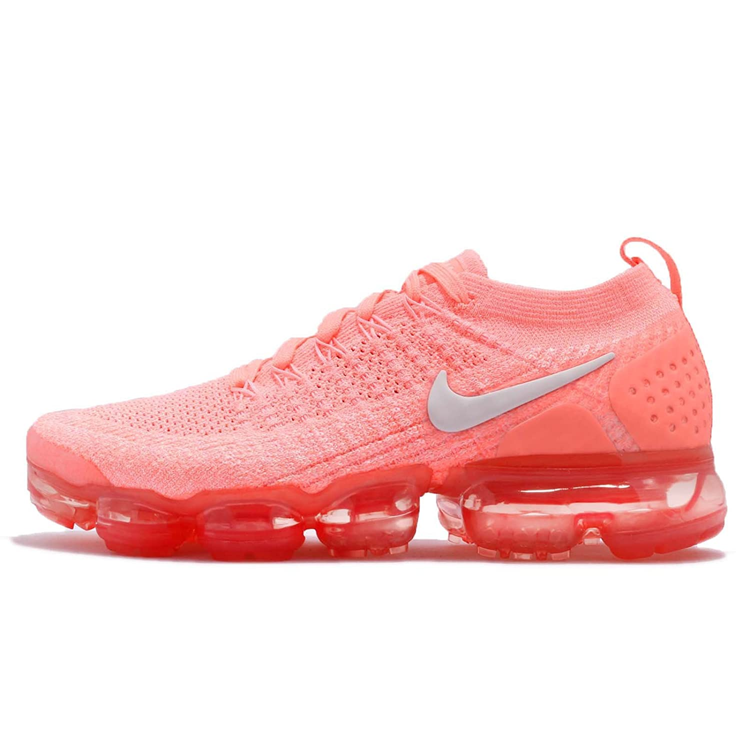 sports shoes 638ad 5e71e NIKE Women's W AIR Vapormax Flyknit 2, Crimson Pulse/SAIL, 9 US