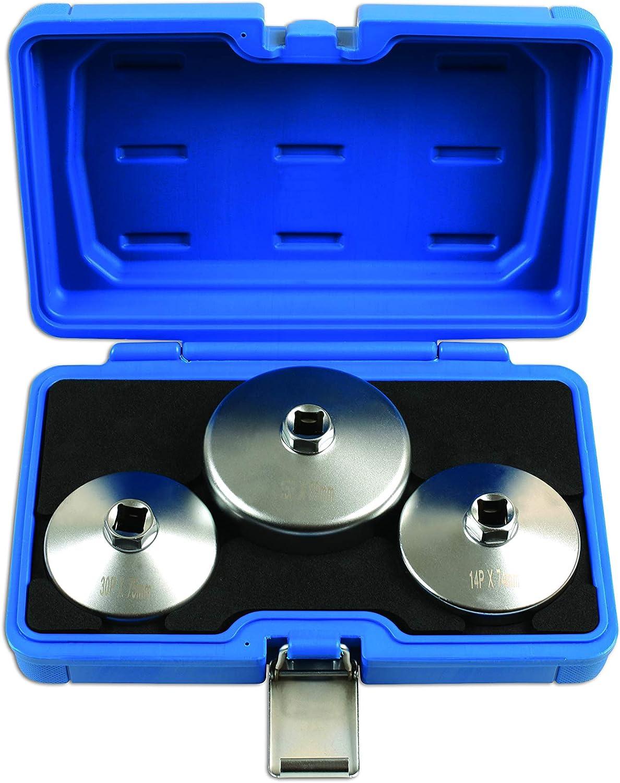 Laser 7527 Oil Filter Wrench Set 3pc-Jaguar//Land Rover